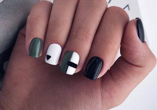 ногти геометрические фото