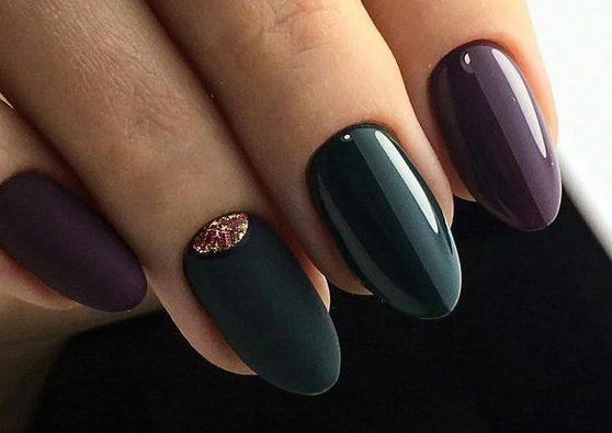 стильный модный дизайн ногтей 2020